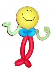 So sieht ein echter Luftballonknoter aus